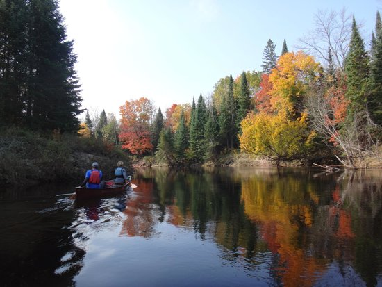 Barrie, Canada: Canoeing the Big East River