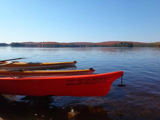 Barrie, Canada: Kayaks in Algonquin