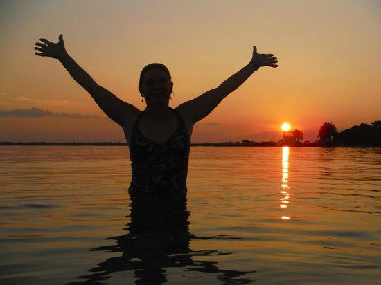 Barrie, Kanada: Cuba Kayak Adventure swimming in the Sea