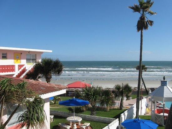 Tropical Manor : plage vue du studio 46