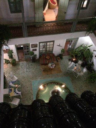 Riad Agathe: Courtyard View