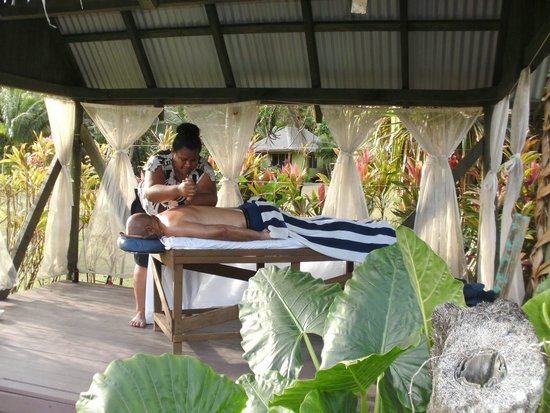 Waidroka Bay Resort: Deep tissue massage
