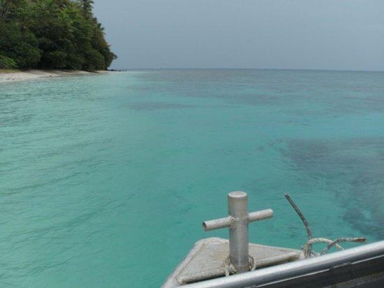 Waidroka Bay Resort: Surface interval