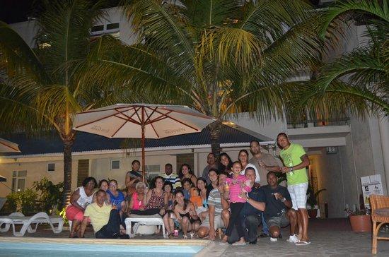 Le Palmiste Resort & Spa: derniere soiree avant depart