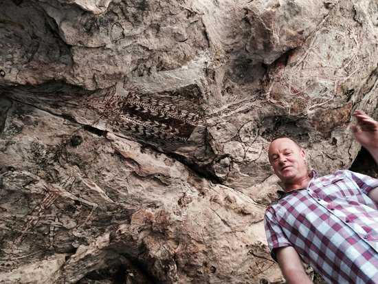 Davidson's Arnhemland Safari Lodge: Amazing rock Art