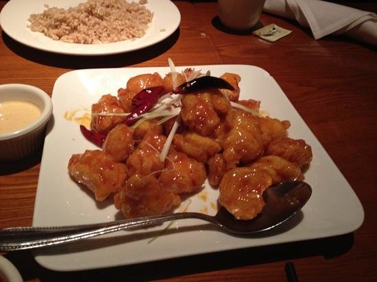 China Grill: orange chicken