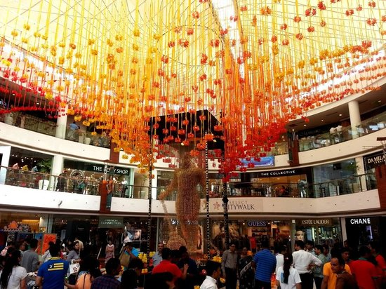 Select Citywalk: Mall decorated for festive season