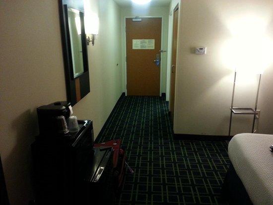 Fairfield Inn & Suites Plainville: Room entrance