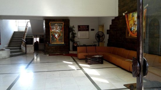 Picture of Sai Baba in main Hall - Hotel Sai Leela, Shirdi