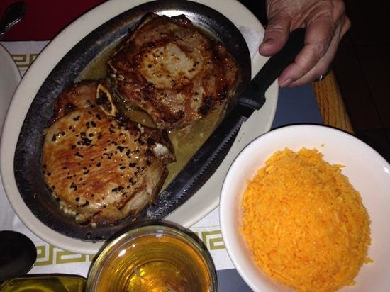 The Pork Chops With Garlic Picture Of Flor De Mayo Restaurant New