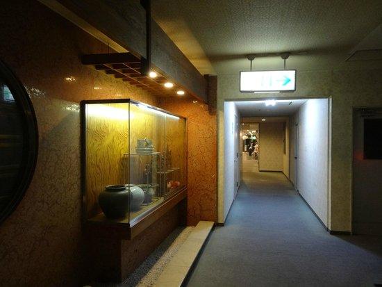 Hotel Kiraku: 本館側