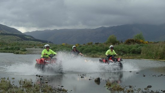 Hanmer Springs Attractions: Quad Bikes