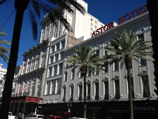 crowne plaza astor new orleans louisiana