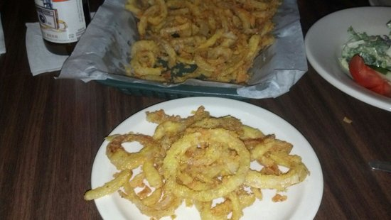 Dexter, IA: Onion rings