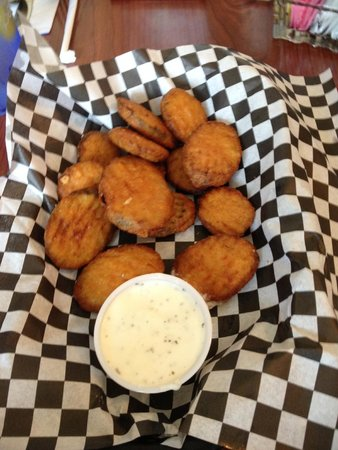 Chowder Bowl at Nye Beach: Beer-battered zucchini slices