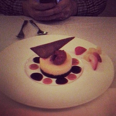 James at the Mill Restaurant: our dessert - lemon tart