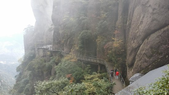 Jiangxi, China: This is the first part that is easy to walk... after these, more stairs await u..