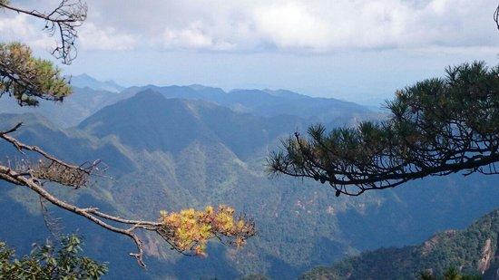 Jiangxi, Kina: Very nice scenic view 美丽的三清山