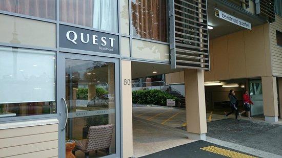 Quest on Beaumont: Entrance