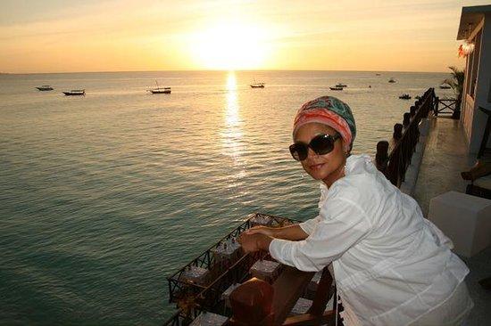 The Z Hotel Zanzibar : Roof top deck