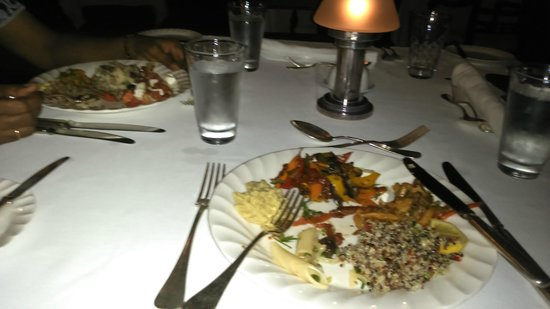 The Residence Mauritius Dinner Buffet At Dining Room