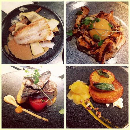 64 Degrees: Selection of our lunch dishes