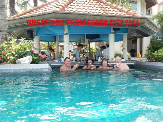 Centara Grand Beach Resort Samui In Pool Bar
