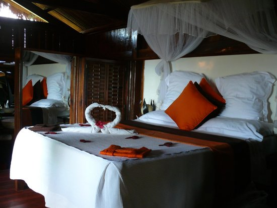 Manga Soa Lodge : Liebevoll eingerichtete und saubere Zimmer