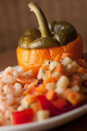 RomeroJo's: Shrimp Chile Relleno