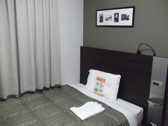 Comfort Hotel Kushiro: 快適なベッドです。