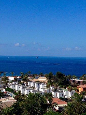 Aparthotel Club Bonanza: Вид с балкона