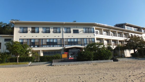 Kokumin Shukusha Sensuijima: 前の砂浜で海ホタルが採れます