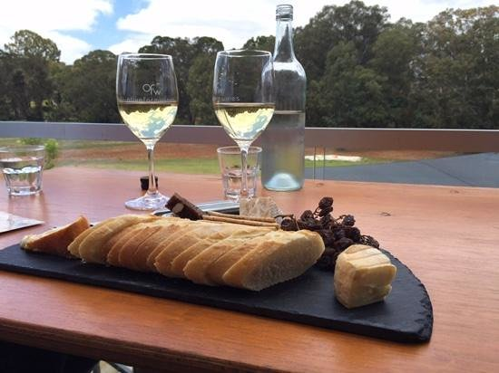 The Cheese Barrel: Amazing Cheese platter with wine