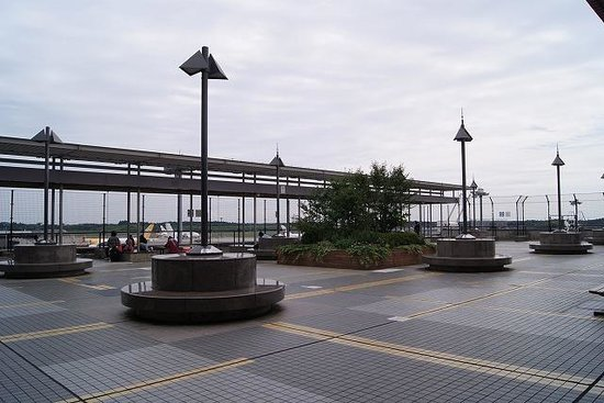 ‪Observation Deck at Narita Airport Terminal 2‬