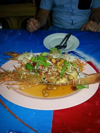 Mit Samui Restaurant: Lobster...yum