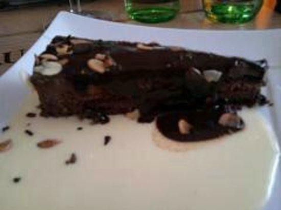 Hôtel restaurant La Vieille Auberge : gateau chocolat fin et délicieux