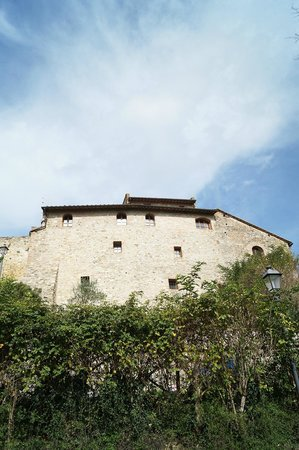 Castello di Monteliscai: The castle!