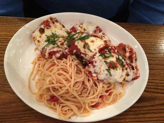 Bertucci's: Chicken Parma