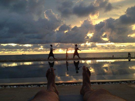 SriLanta Resort: Pool view