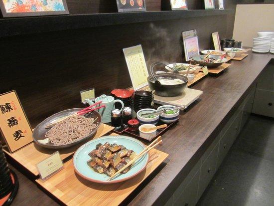 Mitsui Garden Hotel Kyoto Sanjo: Huge Buffet Breakfast Selection