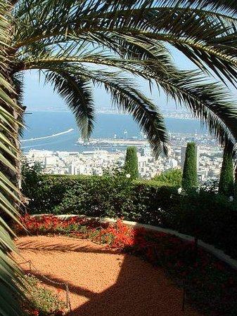 Yefe Nof Street: Бахайские сады