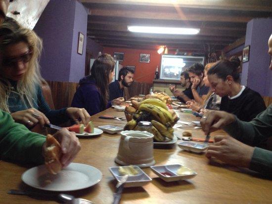 Hostal Koala Den : Café da manhã!