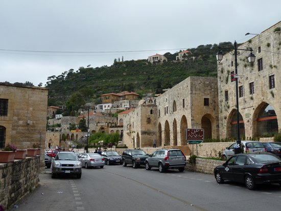 Deir el Qamar, Lebanon: at the Square