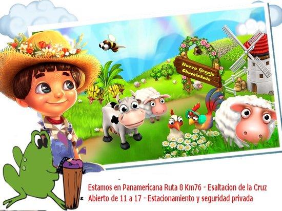 Pilar, Argentinië: Seguinos en facebook granja chocolatada pagina oficial y enterate de las promociones