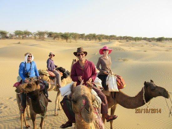 Sagar Guest House: camel safari