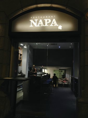 Nice new restaurant picture of napa barcelona tripadvisor for A new napa cuisine