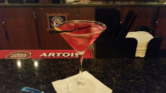 Hotel Mead & Conference Center: Great cosmo at the bar