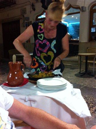 RESTAURANTE CHIKI: Paella excellente et très copieuse
