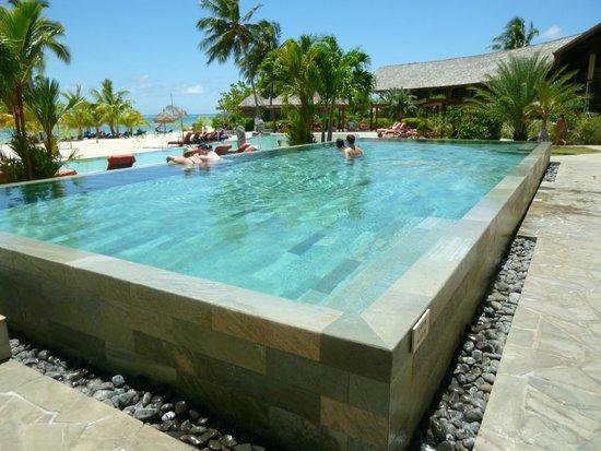 Piscine Picture Of Intercontinental Moorea Resort Spa