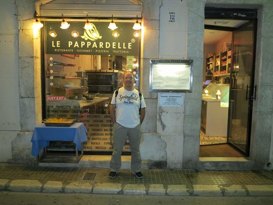 Le Pappardelle : A minha visita